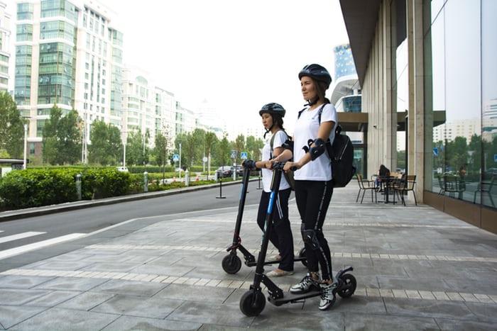 La llegada de los patinetes a las calles